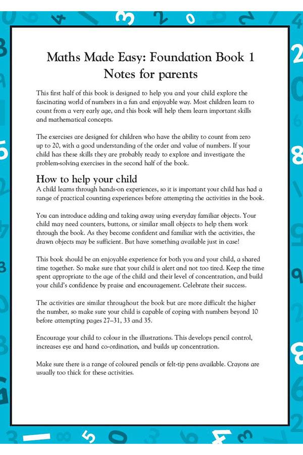 Maths Made Easy: Foundation Book 1 - Penguin Books Australia