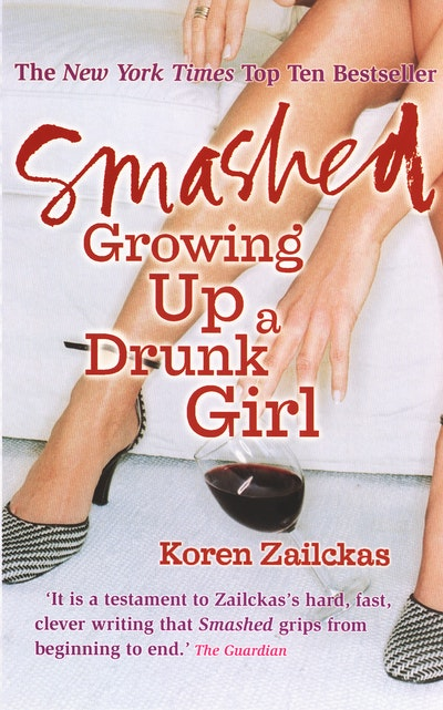 book discussion smashed by koren zailckas
