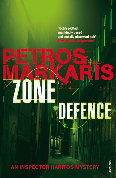 Penguin Book Cover Zone : Zone defence by petros markaris penguin books new zealand