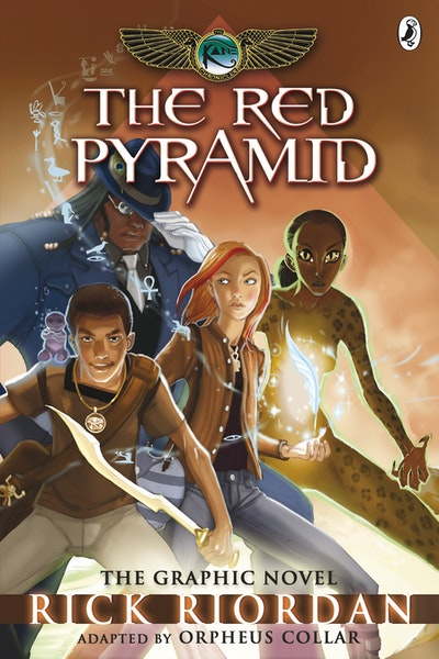 The Red Pyramid: The Graphic Novel (The Kane Chronicles Book 1)