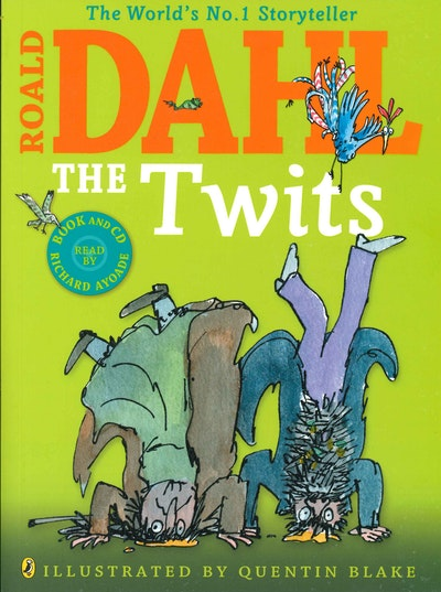 The Twits (Colour Edition With Cd)