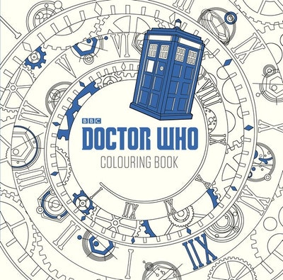 The Doctor Who Colouring Book