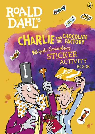 Roald Dahl Charlie And The Chocolate Factory Sticker Activity Book
