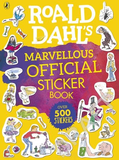 Roald Dahl's Official Sticker Book