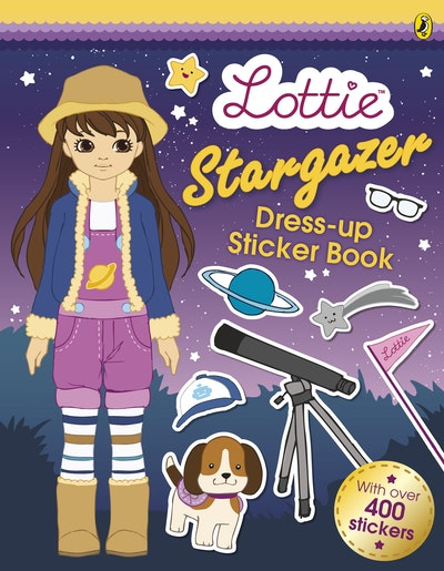 Lottie Dolls: Stargazer Lottie's Sticker Dress-Up Book