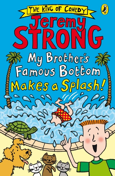 My Brother's Famous Bottom Makes a Splash!