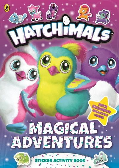 Hatchimals: Magical Adventures Sticker Activity Book