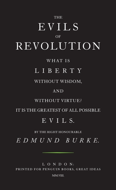 The Evils Of Revolution