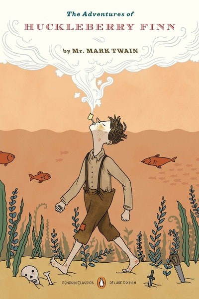 The Adventures Of Huckleberry Finn (Penguin Classics Deluxe Edition)