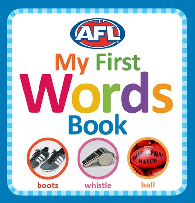 AFL: My First Words Book