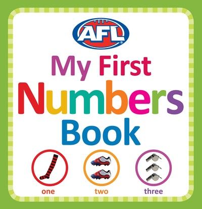 AFL: My First Numbers Book