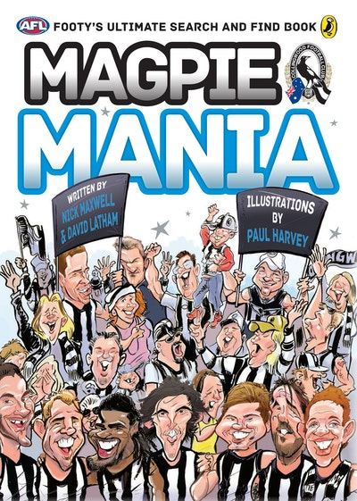 AFL: Magpie Mania: Footy's Ultimate Search and Find Book