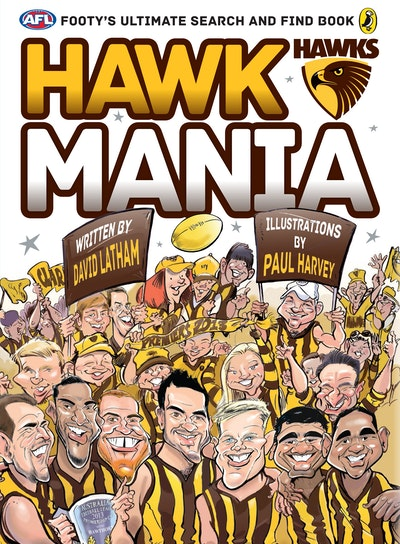 AFL: Hawk Mania: Footy's Ultimate Search and Find Book