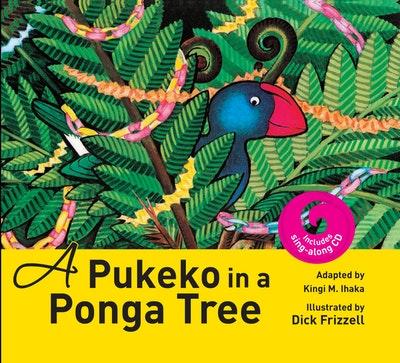 A Pukeko In a Ponga Tree + CD