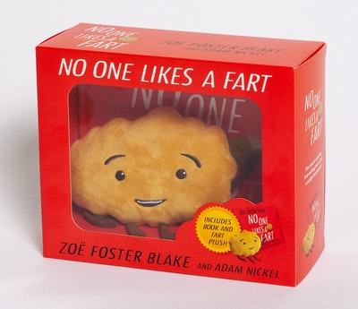 No One Likes a Fart hardback book and plush toy box set