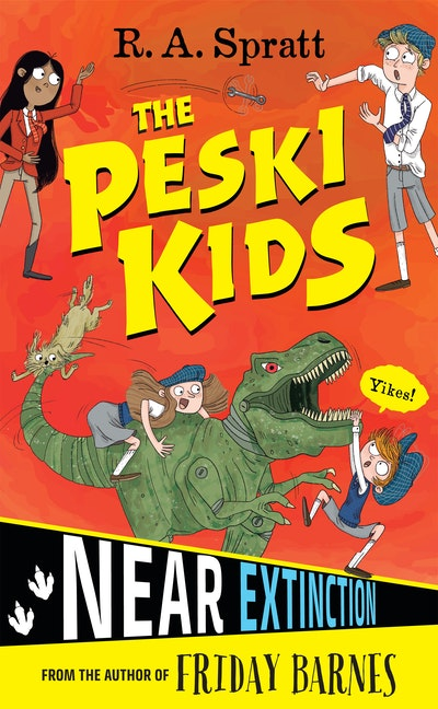 The Peski Kids 4: Near Extinction