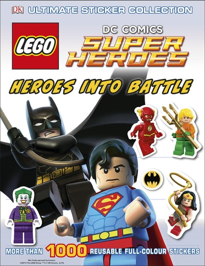 LEGO® Super Heroes: Heroes Into Battle: Ultimate Sticker Collection