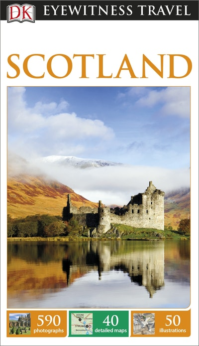 Scotland eyewitness travel guide by dk penguin books for Travel guide to scotland