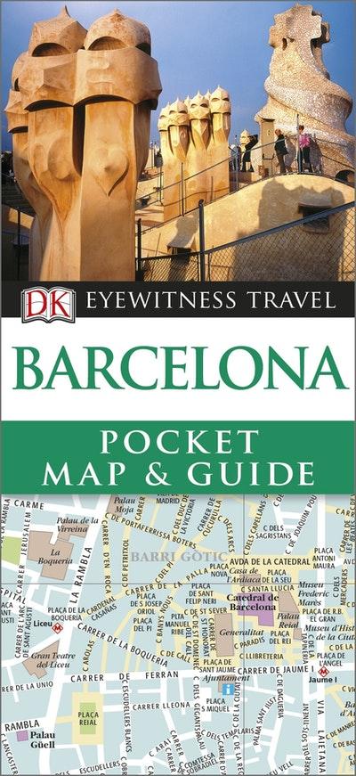 Barcelona: Eyewitness Pocket Map And Guide