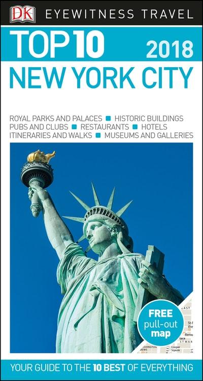 New York City: Eyewitness Top 10 Travel Guide