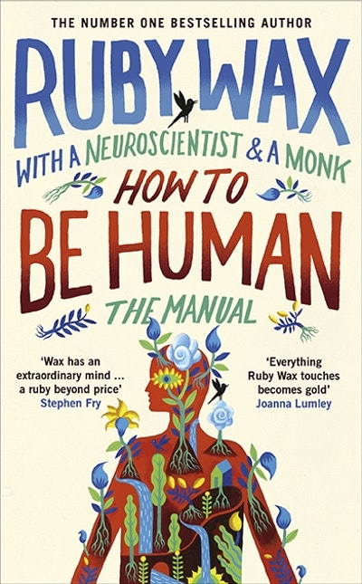 How to be human by ruby wax penguin books australia hi res cover how to be human solutioingenieria Gallery