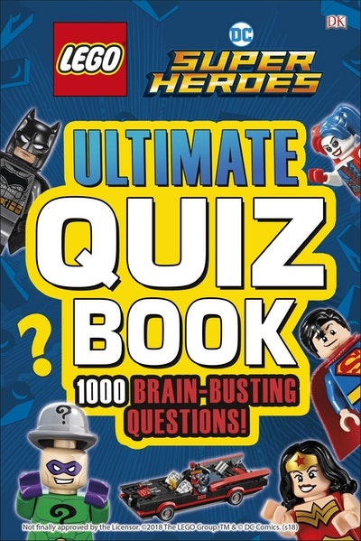 Lego DC Comics Superheroes: Ultimate Quiz Book