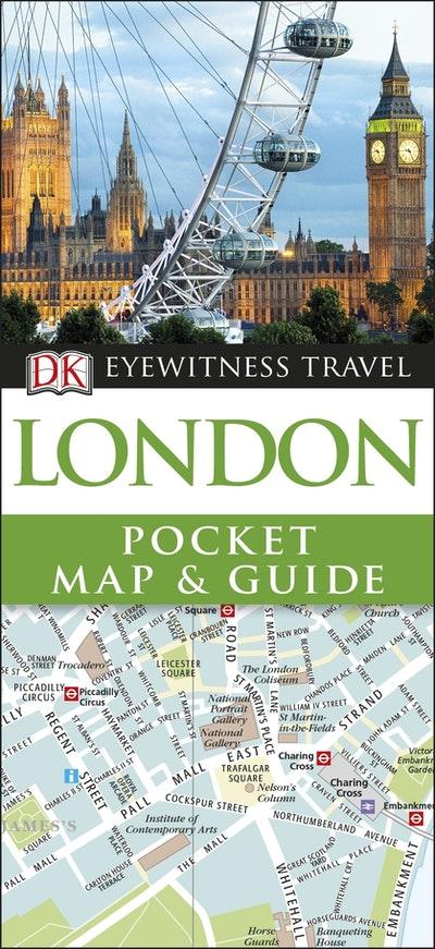 London: DK Eyewitness Pocket Map and Guide