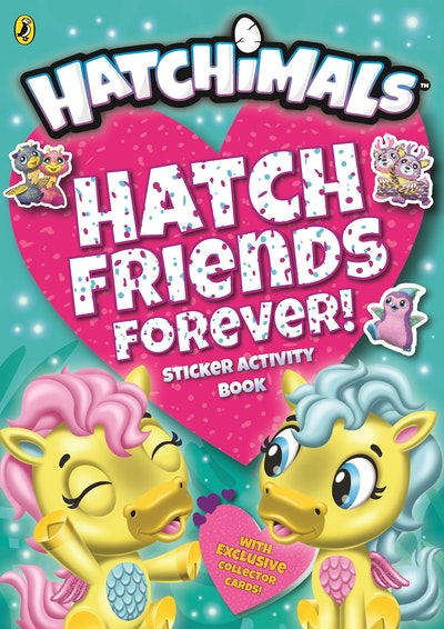 Hatchimals: Friends Forever! Sticker Activity Book