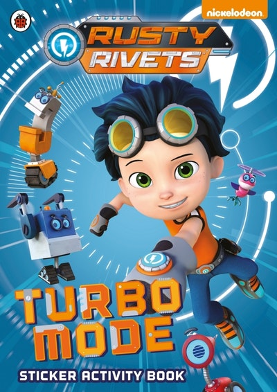 Rusty Rivets: Turbo Mode Sticker Activity