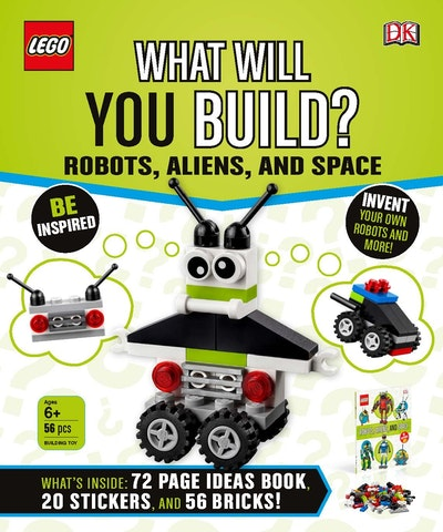 LEGO What Will You Build? Robots, Aliens and Space