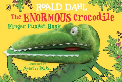 The Enormous Crocodile's Finger Puppet Book