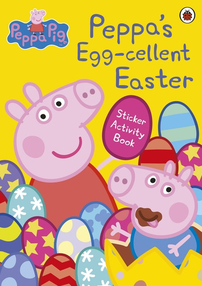 Peppa's Egg-Cellent Easter Sticker Activity Book