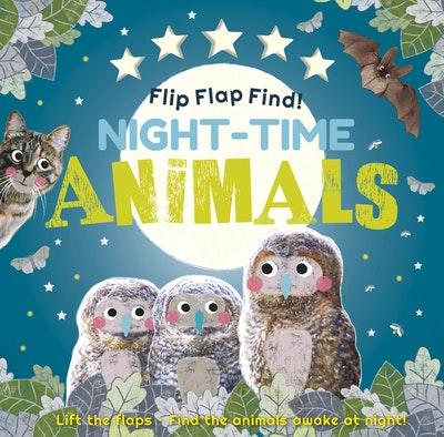Flip Flap Find! Night-time Animals