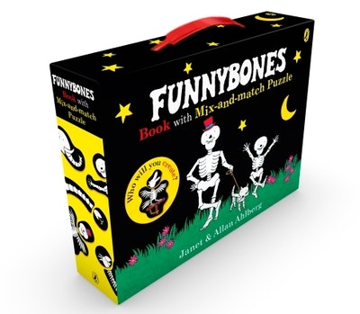 Funnybones book with mix-and-match puzzle