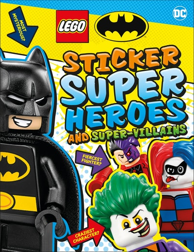 LEGO Batman Sticker Super Heroes and Super-Villains