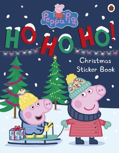 Peppa Pig: Ho Ho Ho! Christmas Sticker Book