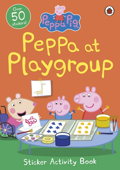 Peppa Pig: Peppa at Playgroup Sticker Activity