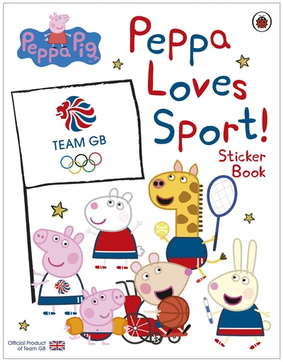 Peppa Pig: Peppa Loves Sport! Sticker Book
