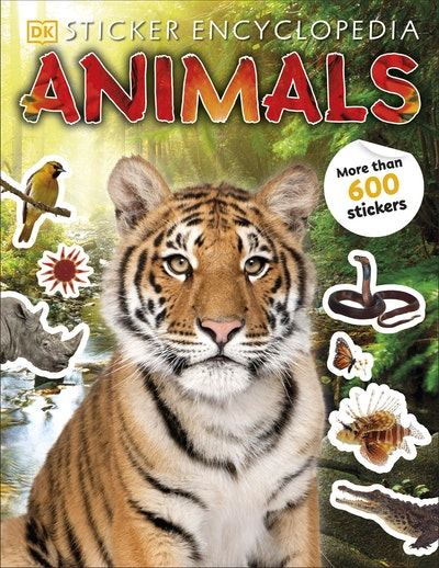 Sticker Encyclopedia Animals
