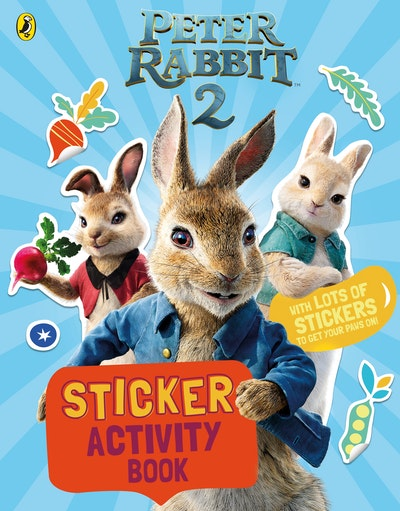 Peter Rabbit Movie 2 Sticker Activity Book