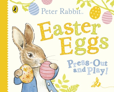 Peter Rabbit Easter Decoration Book