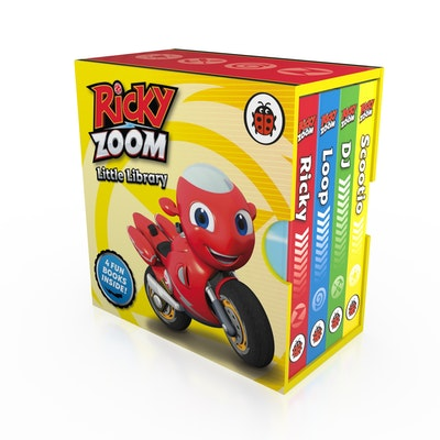 Ricky Zoom Little Library