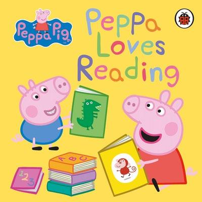 Peppa Pig: Peppa Loves Reading