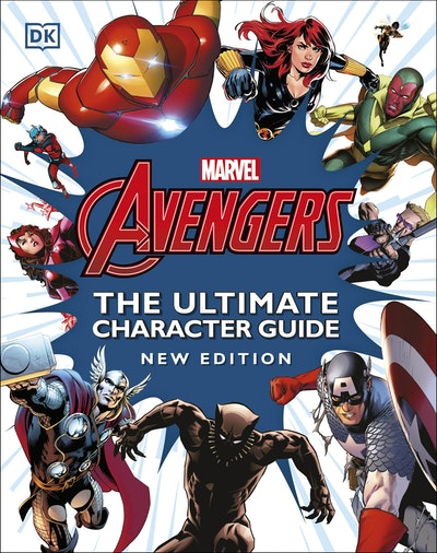 Marvel Avengers The Ultimate Character Guide New Edition