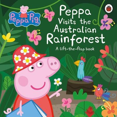Peppa Visits the Australian Rainforest: A Lift-the-flap Adventure
