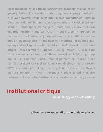 Institutional Critique