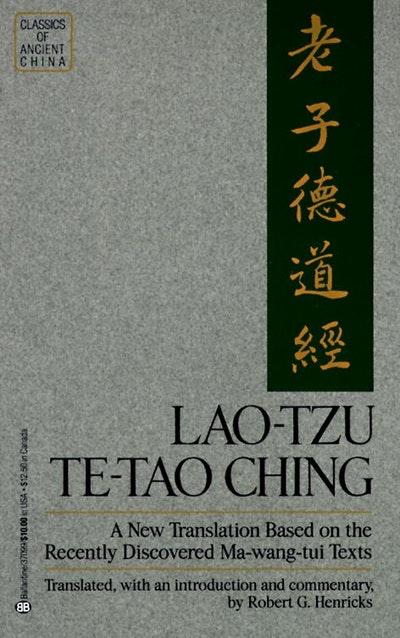 Lao Tzu Te Tao Ching