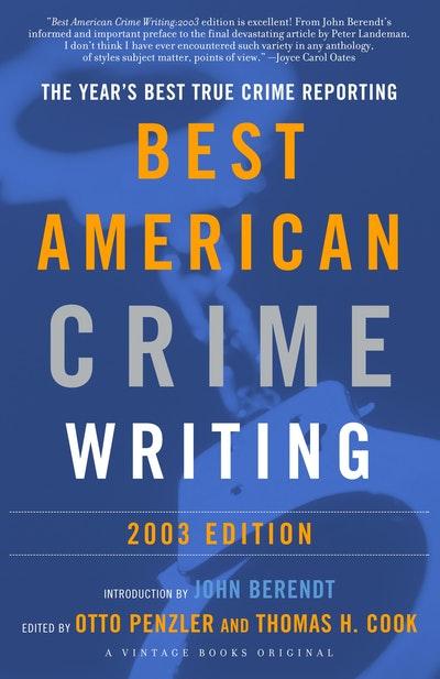 Best American Crime Writing 2003
