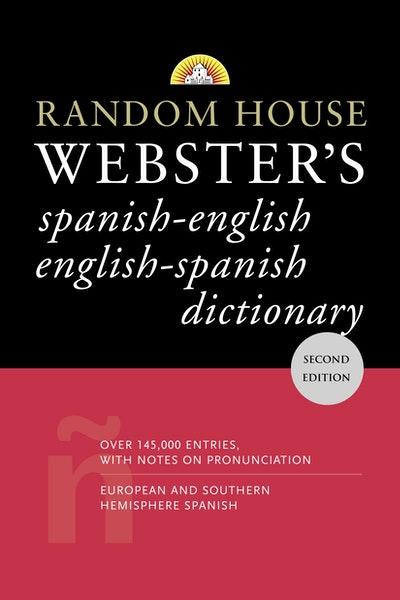 Random House Spanish-Englishenglish-Spanish Dictionary