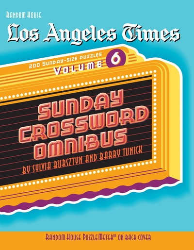 Los Angeles Times Sunday Crossword Omnibus, Volume 6